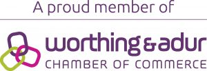 Member of Worthing and Adur Chamber of Commerce for businesses in Worthing
