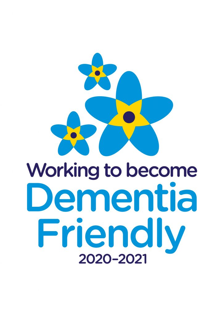 Dementia Friendly 2020-2021 logo