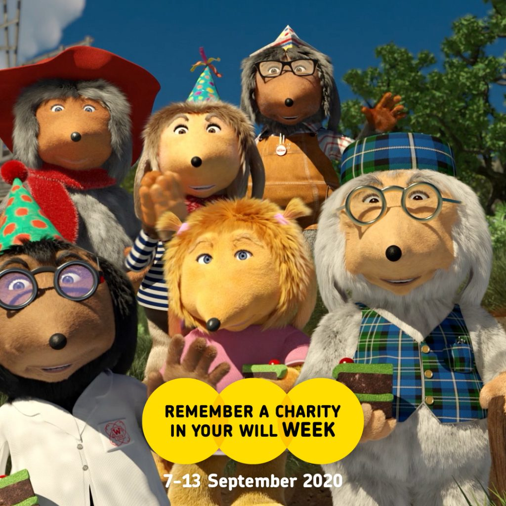 Wombles remember a charity week