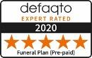 Defaqto 5 star rating logo